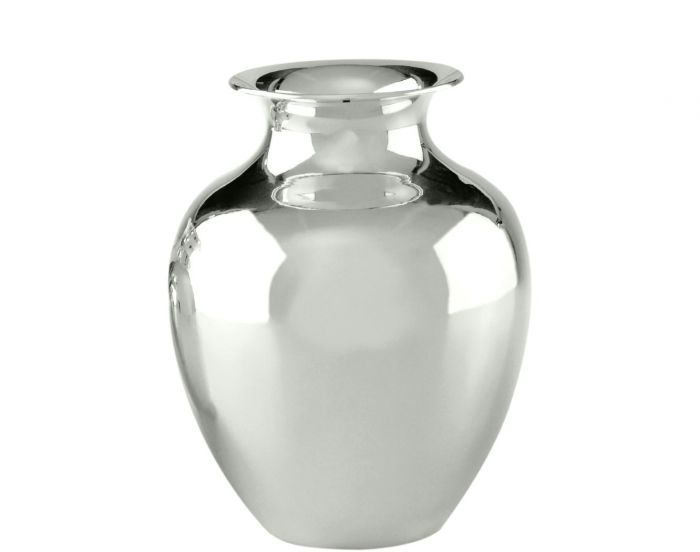 Essentia Collection Smooth Spanish Vase Silver Tableware And